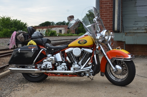 Motorcycle 1994 Heritage Softail Jade Lexington Dixie Furniture Mill 20170625_3493