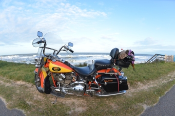 St Augustine Bryn Mawr Flagler Beach 20171112_6797 motorcycle Harley Davidson 1994 Heritage Softail Knight's Cycles